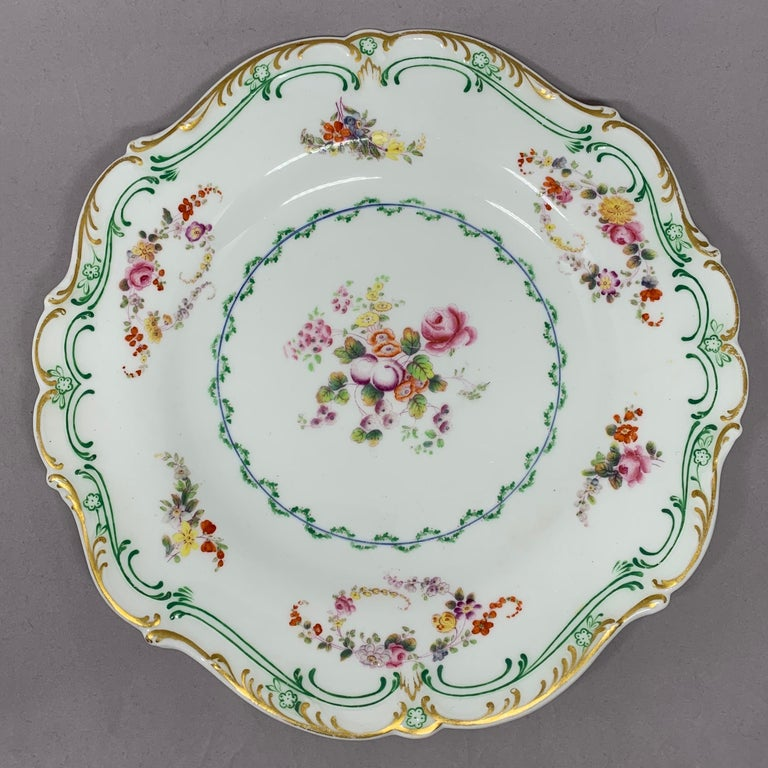 Set of Eight English Plates For Sale 4