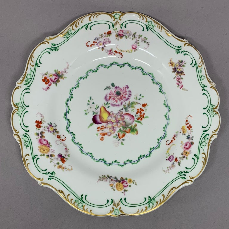 Set of Eight English Plates For Sale 5