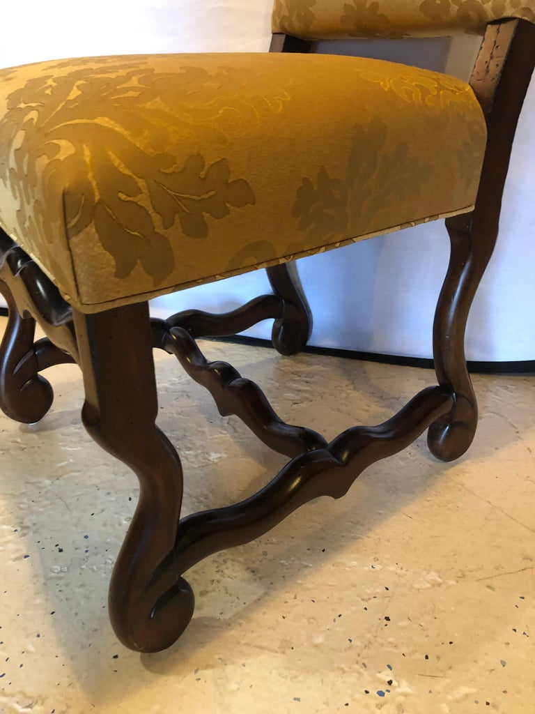 Set of Eight Georgian Style Dining Chairs For Sale 5