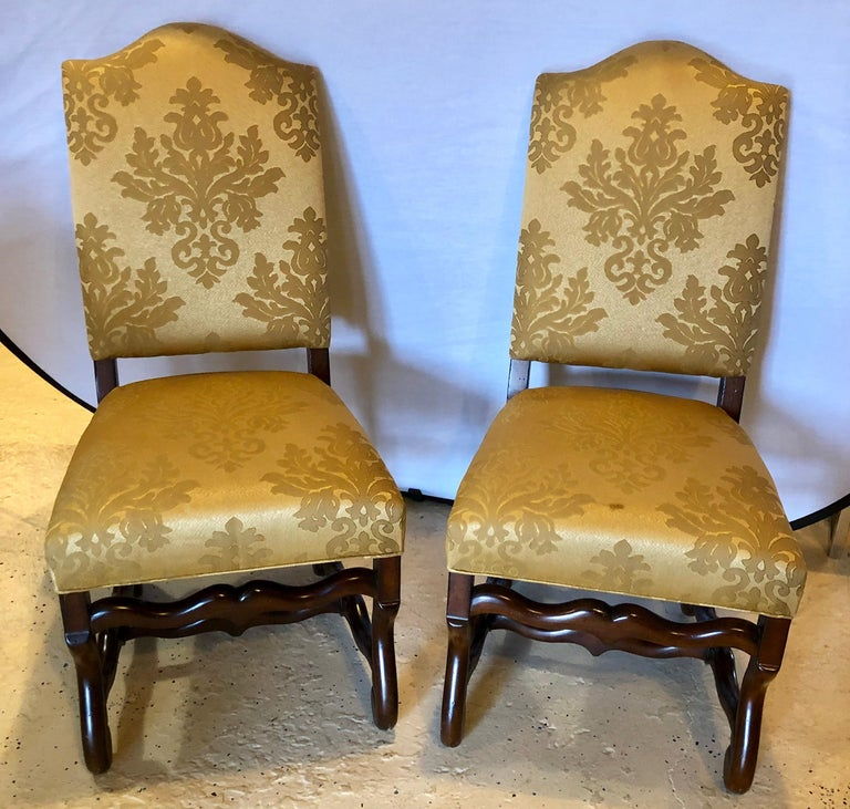 Set of Eight Georgian Style Dining Chairs In Good Condition For Sale In Stamford, CT