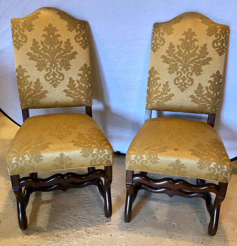 20th Century Set of Eight Georgian Style Dining Chairs For Sale