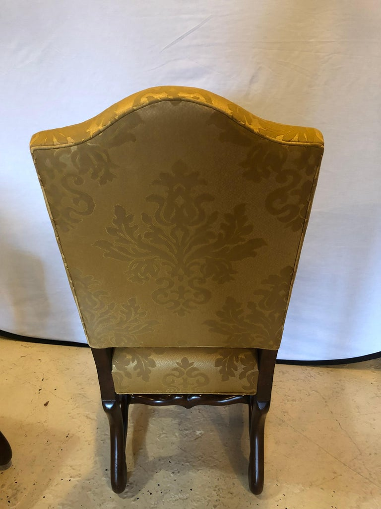 Set of Eight Georgian Style Dining Chairs For Sale 2