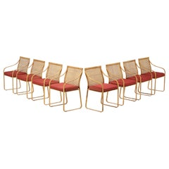 Set of Eight Harvey Probber Classique Dining Chairs