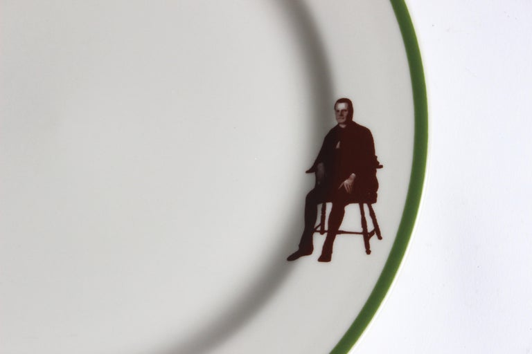 American Set of Eight Homer Laughlin Plates For Sale