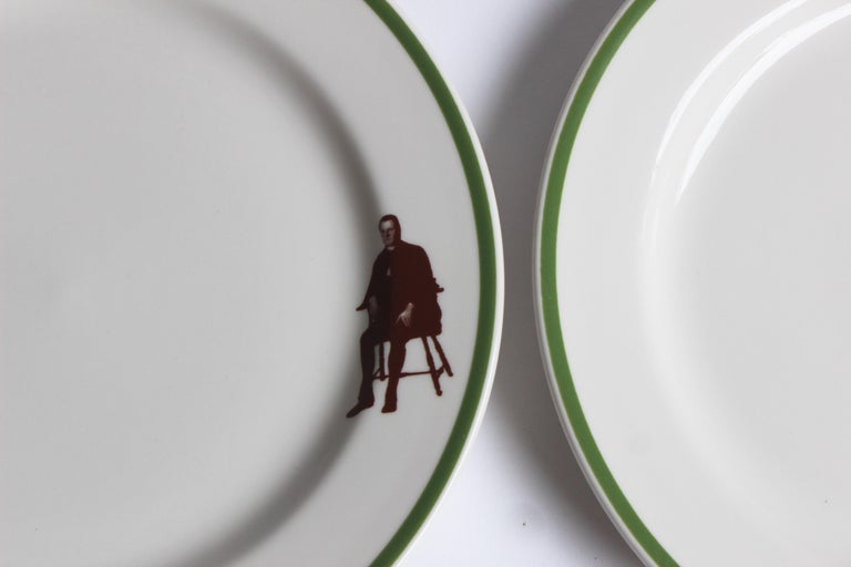 Set of Eight Homer Laughlin Plates In Excellent Condition For Sale In East Hampton, NY