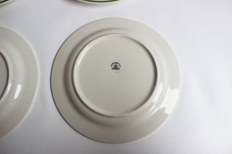Set of Eight Homer Laughlin Plates For Sale 1