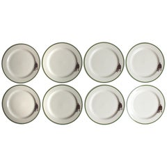 Set of Eight Homer Laughlin Plates