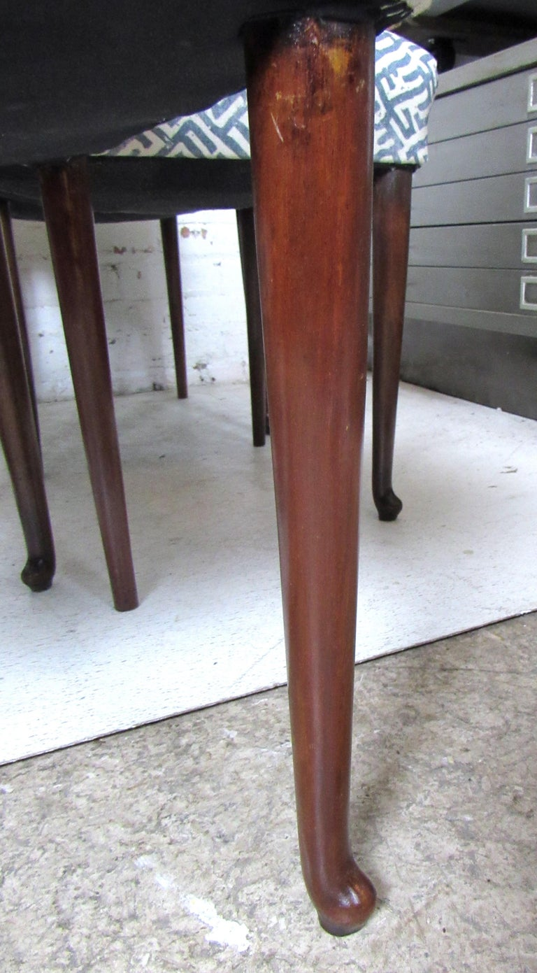 Set of Eight Italian Dining Chairs For Sale 3