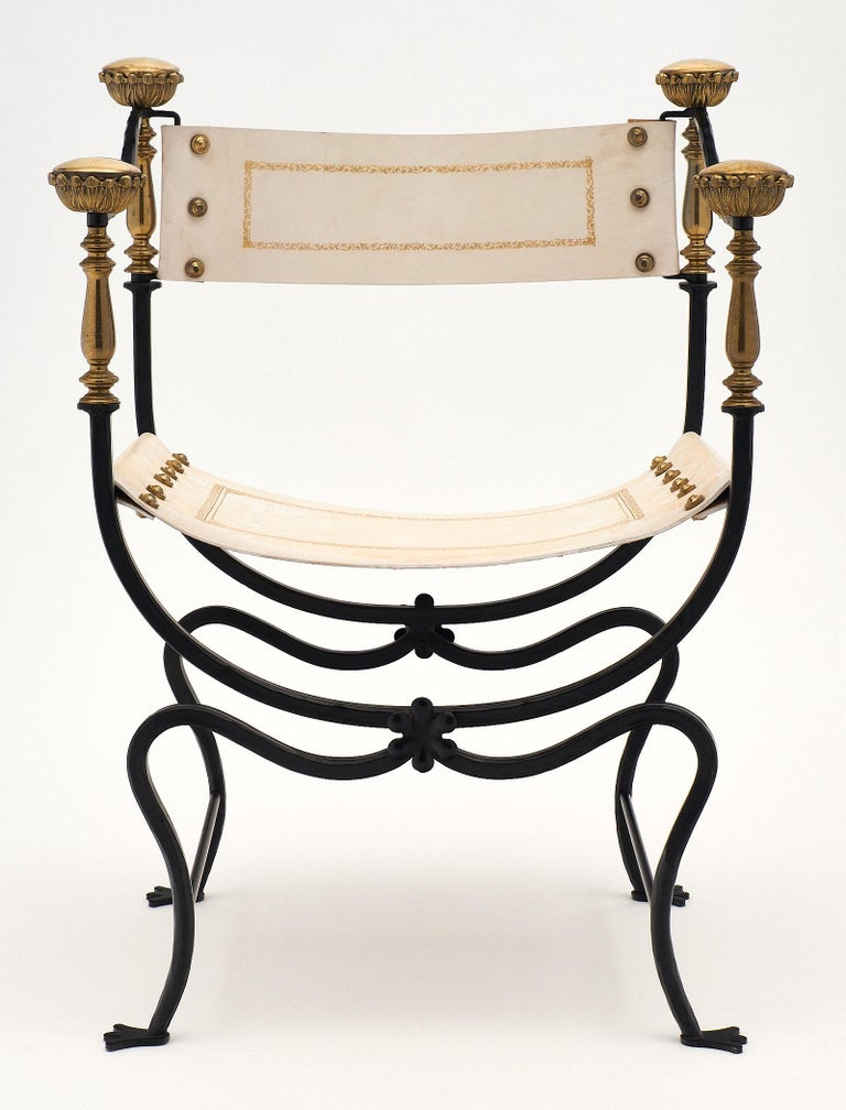 Set of Eight Italian Renaissance Style Armchairs In Good Condition For Sale In Austin, TX