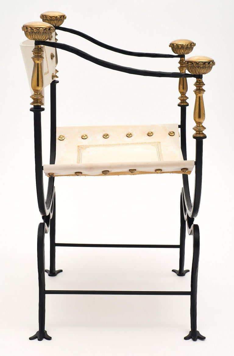 Set of Eight Italian Renaissance Style Armchairs For Sale 2