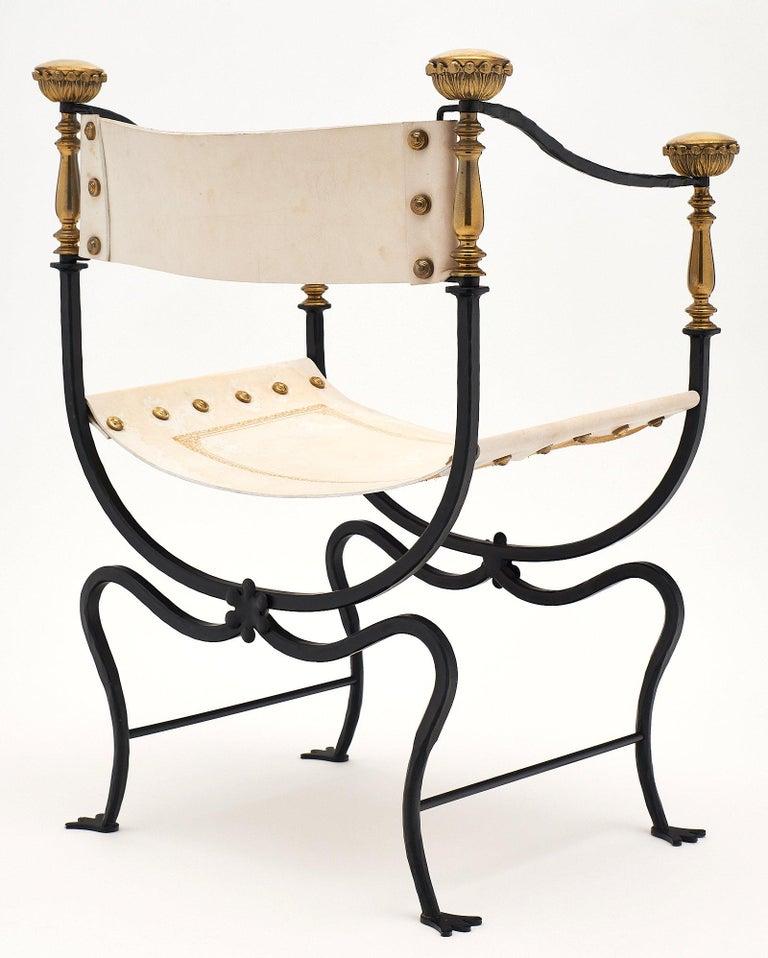Set of Eight Italian Renaissance Style Armchairs For Sale 3
