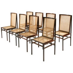 "Set of Eight ""Itamaraty"" Chairs by Joaquim Tenreiro"