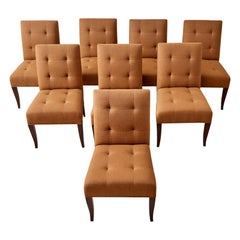 Set of Eight John Hutton for Donghia Dining Chairs