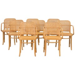 Set of Eight Josef Hoffman Bentwood Chairs