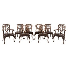 Set of Eight Mahogany Dining Chairs by Marsh, Jones and Cribb