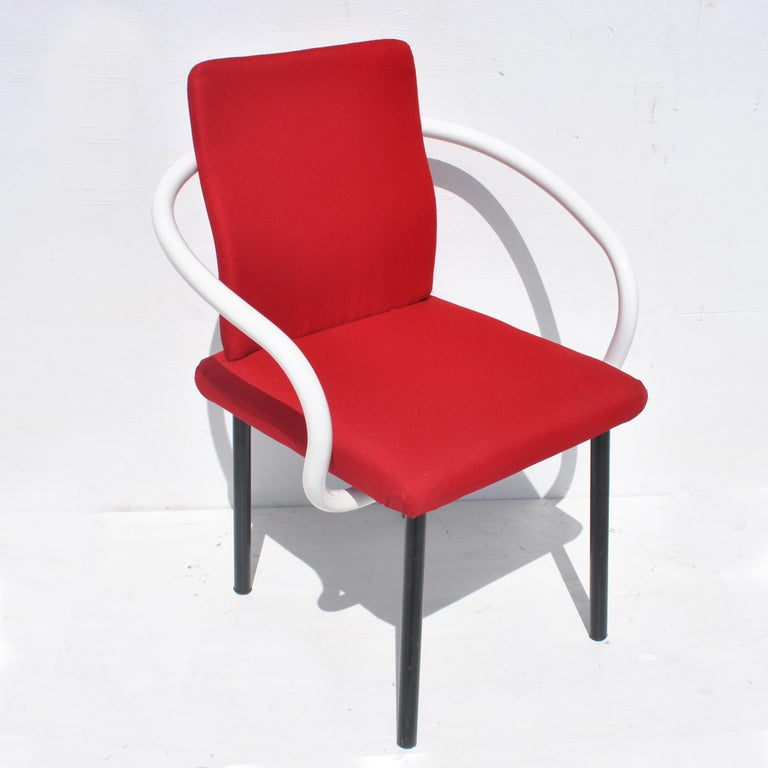 Knoll  Ettore SottsassJr. (ITALY, 1917-2007)  An architect, industrial designer, philosopher and provocateur, Ettore Sottsass led a revolution in the aesthetics and technology of modern design in the late 20th century.   Sottsass was the