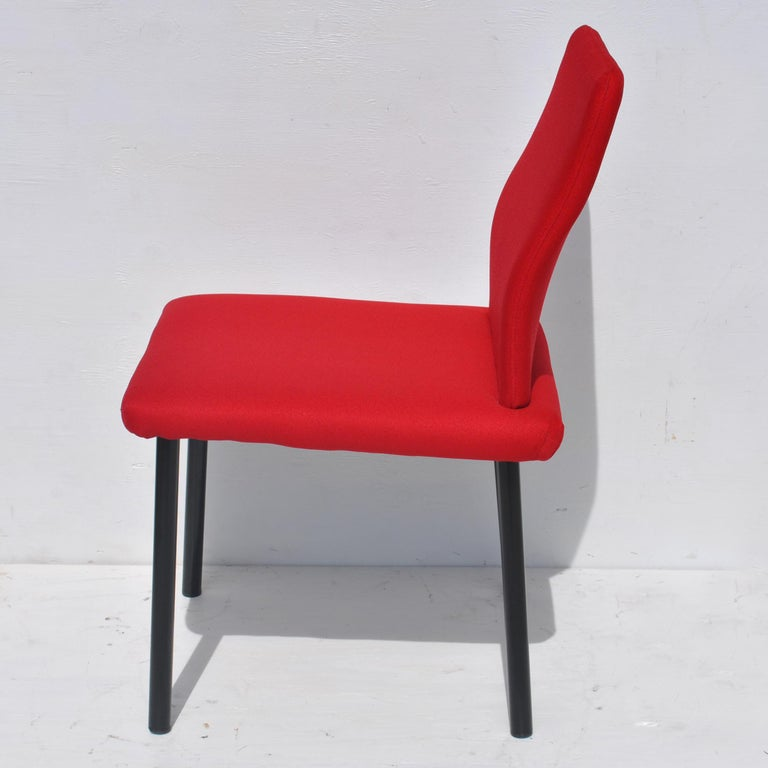 Set of Eight Mandarin Dining Chairs Designed by Ettore Sottsass for Knoll  For Sale 2
