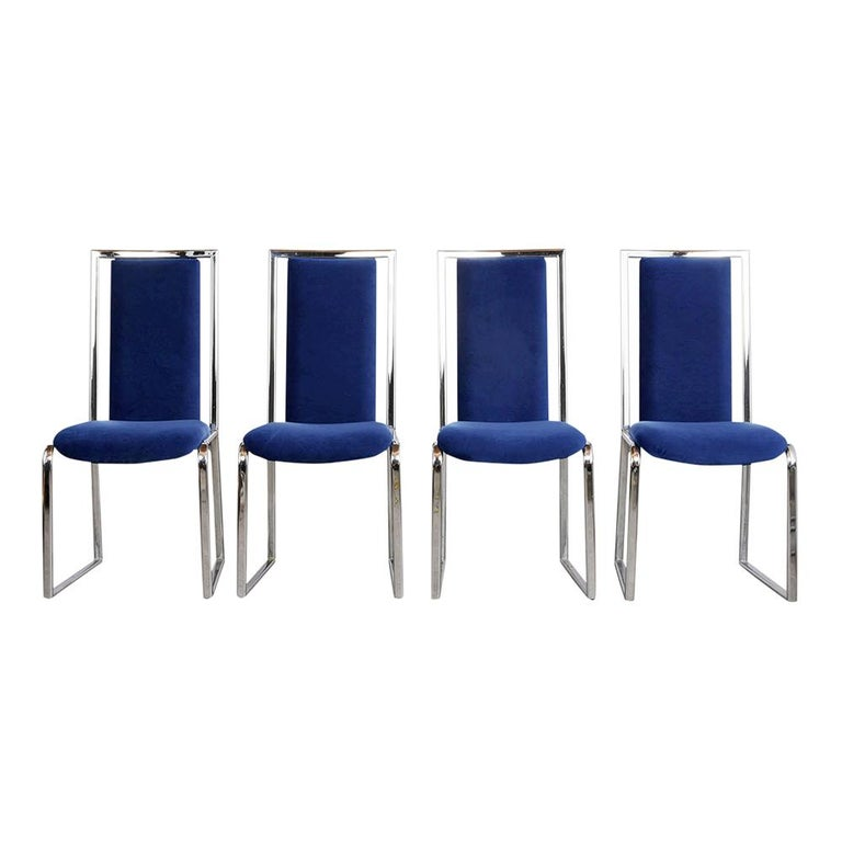 American Vintage Set of Eight Modern Dining Chairs For Sale