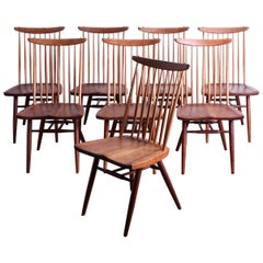 "Set of Eight ""New"" Chairs by George Nakashima"