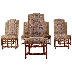 Set of Eight Os de Mouton Dining Chairs Modern Redux