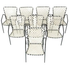 Set aus acht Terrassen-Stühlen von Ames Aire