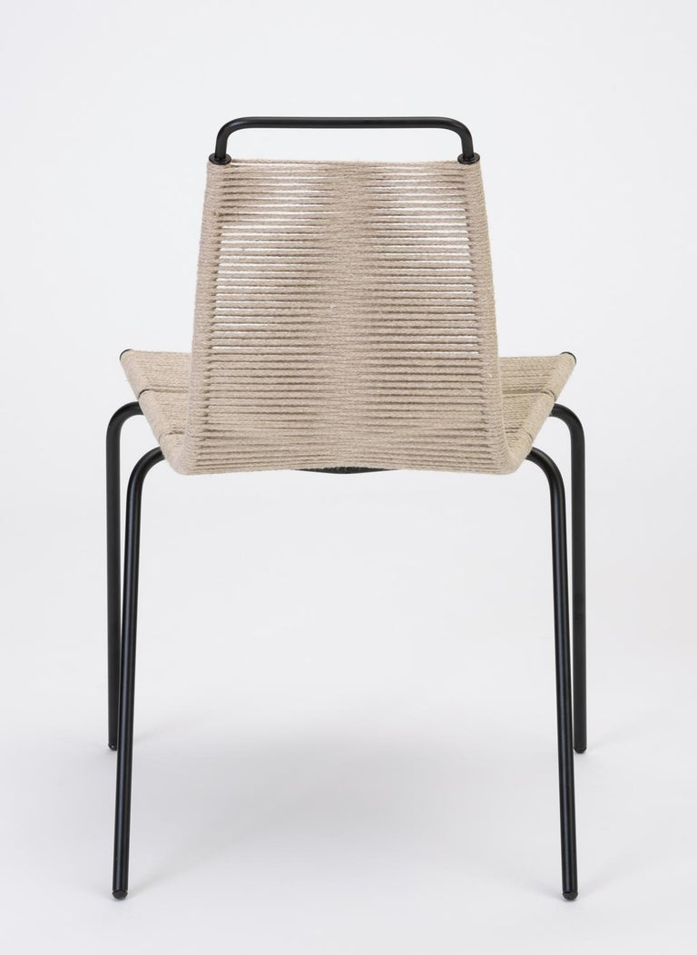 Set of Eight PK-1 Dining Chairs by Poul Kjaerholm For Sale 3
