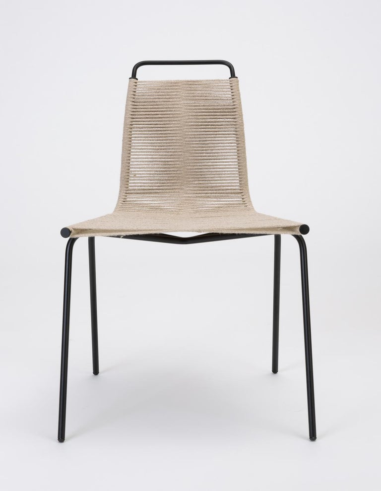 Danish Set of Eight PK-1 Dining Chairs by Poul Kjaerholm For Sale