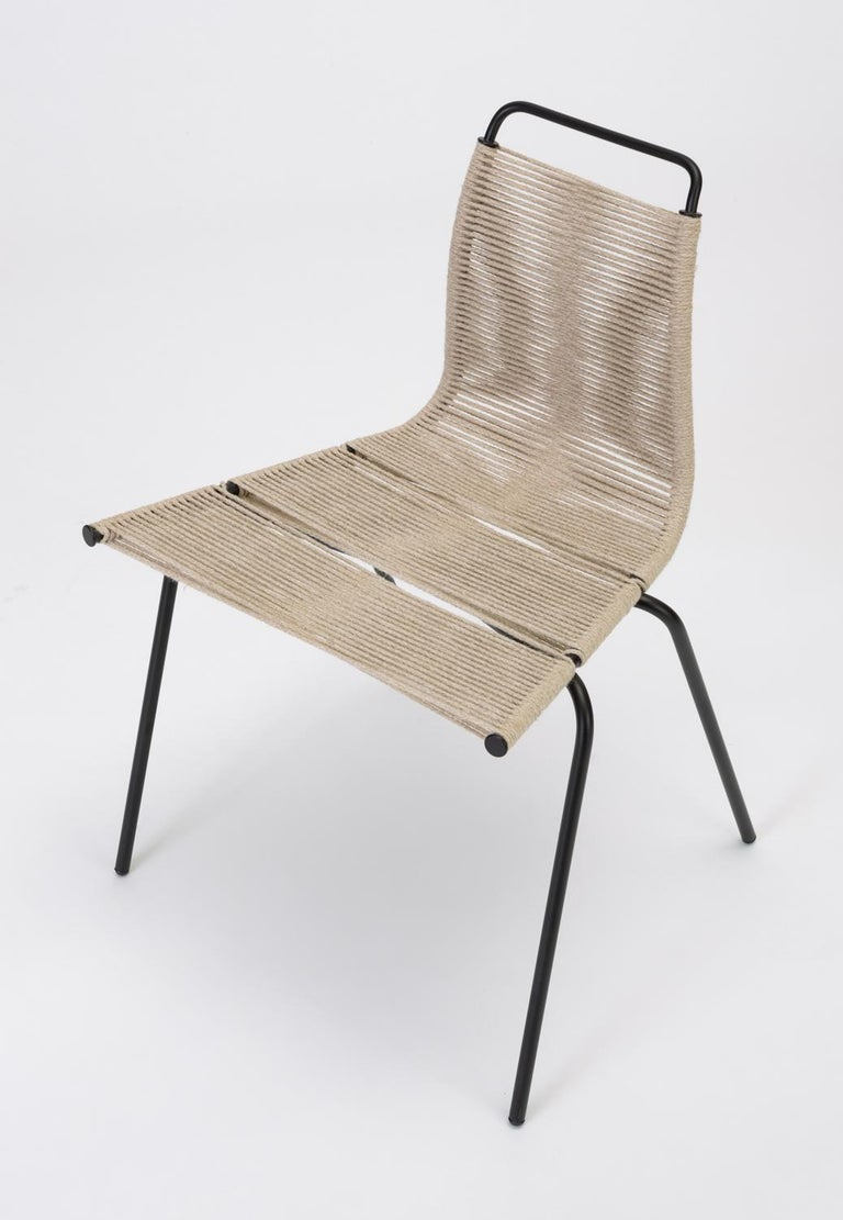 Set of Eight PK-1 Dining Chairs by Poul Kjaerholm In Excellent Condition For Sale In Los Angeles, CA