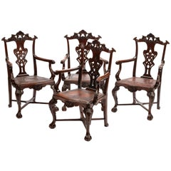 Set of Eight Portuguese Armchairs