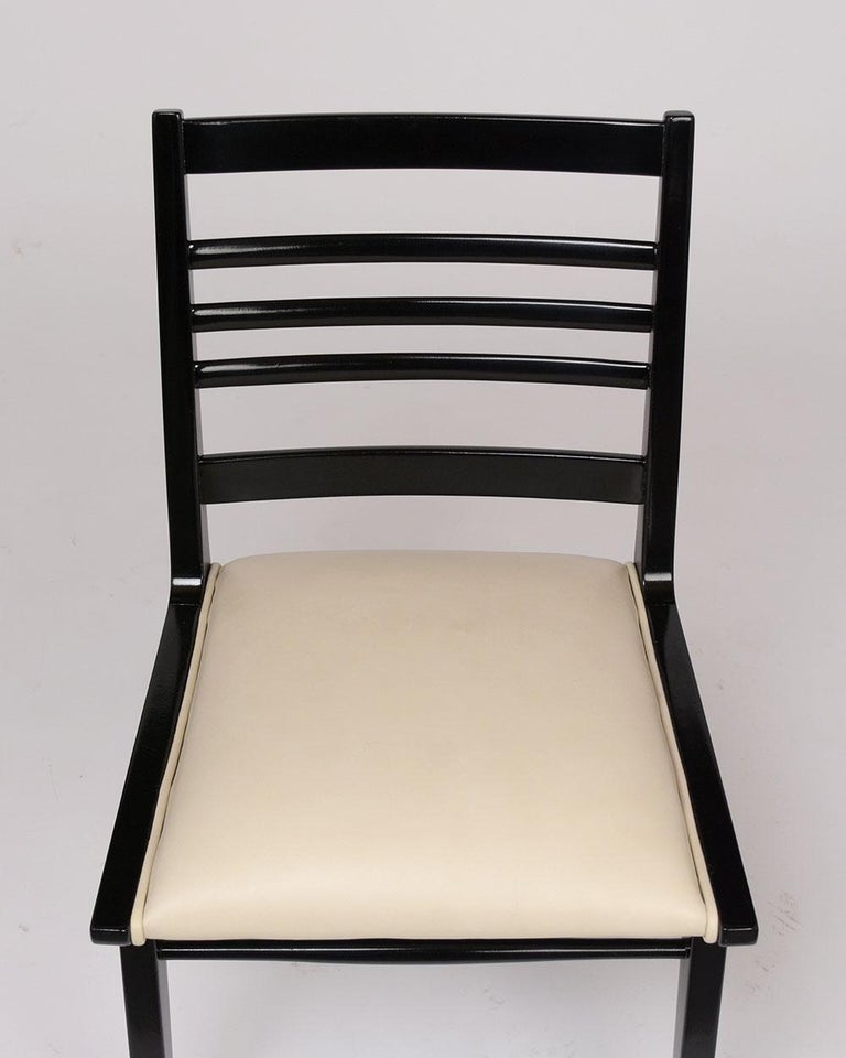 American Set of Eight Mid-Century Dining Chairs For Sale