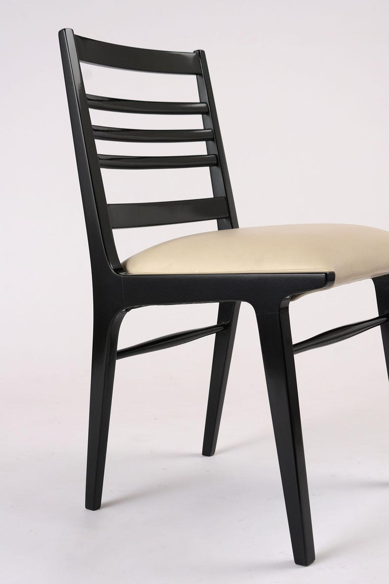 Mid-20th Century Set of Eight Mid-Century Dining Chairs For Sale