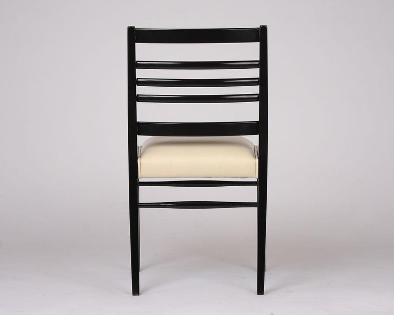 Set of Eight Mid-Century Dining Chairs For Sale 1