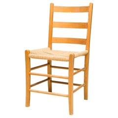 Set of Eight Scandinavian Oregon Pine Chairs