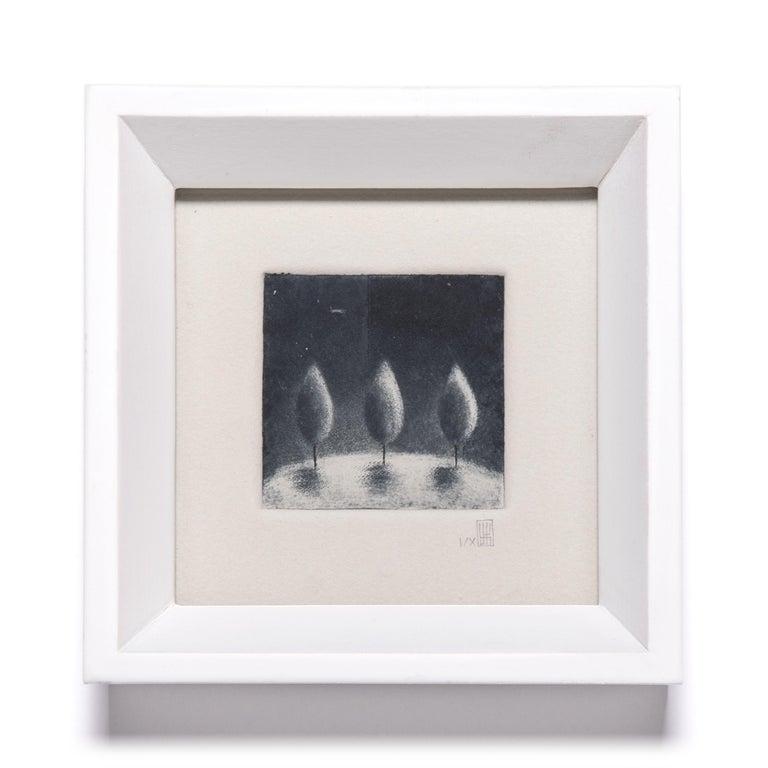 American Set of Eight Small Prints by Yoko Tanaka