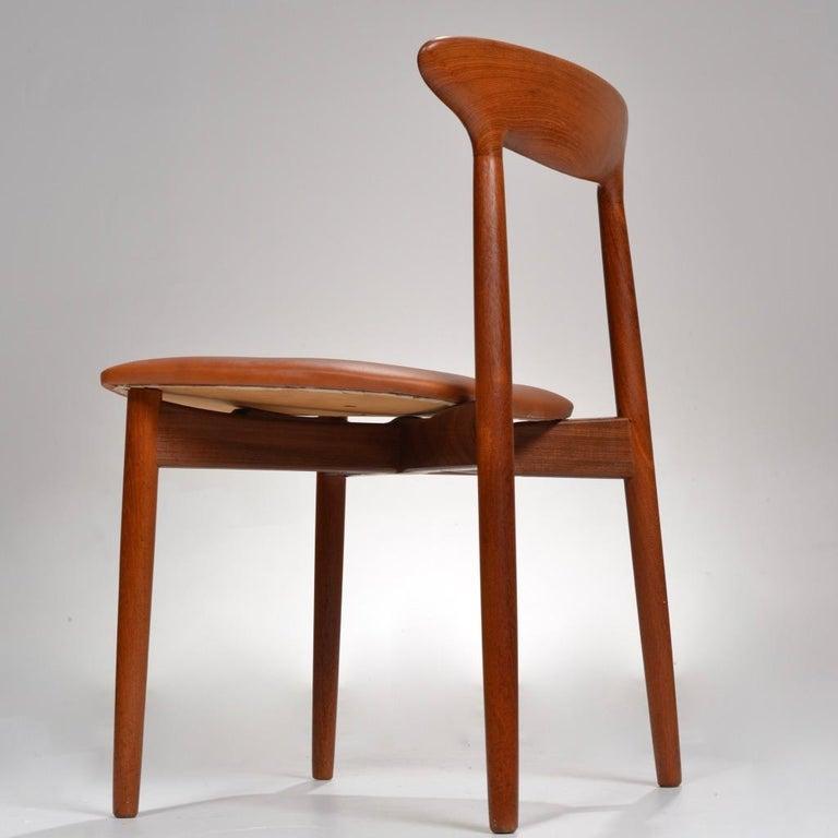 Set of 12 Teak Dining Chairs by Harry Østergaard for Randers Møbelfabrik For Sale 2