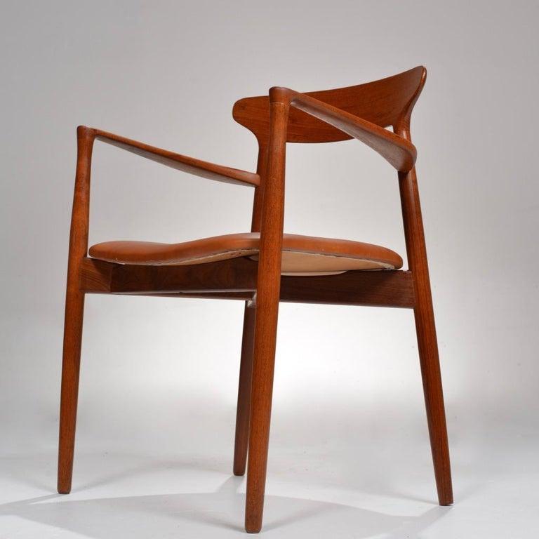 Set of 12 Teak Dining Chairs by Harry Østergaard for Randers Møbelfabrik For Sale 3