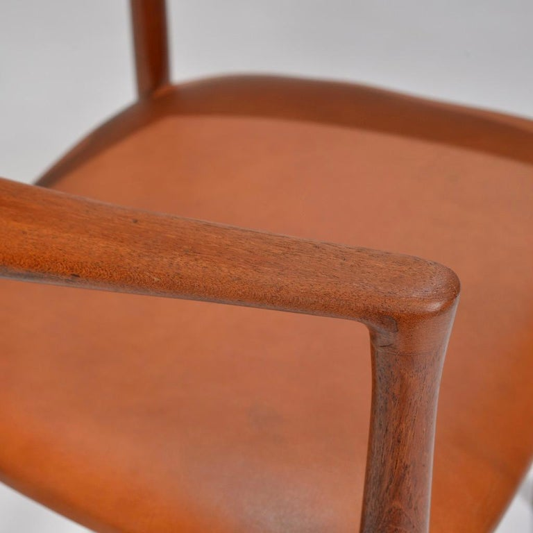 Set of 12 Teak Dining Chairs by Harry Østergaard for Randers Møbelfabrik For Sale 8