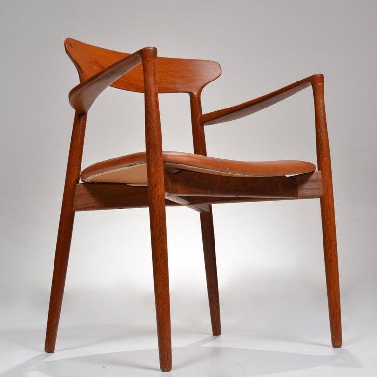 Set of 12 Teak Dining Chairs by Harry Østergaard for Randers Møbelfabrik For Sale 9