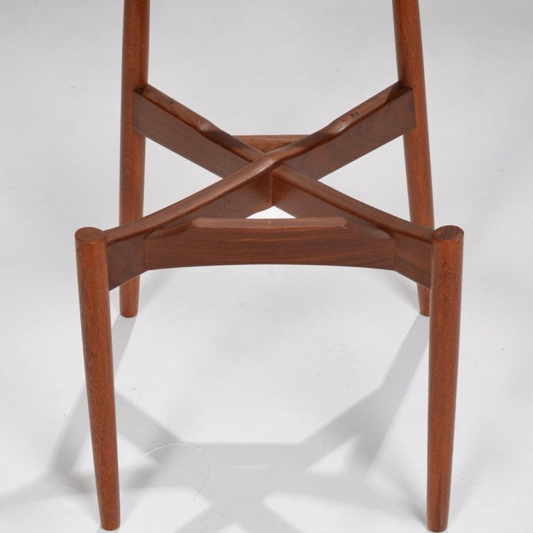 Mid-20th Century Set of 12 Teak Dining Chairs by Harry Østergaard for Randers Møbelfabrik For Sale