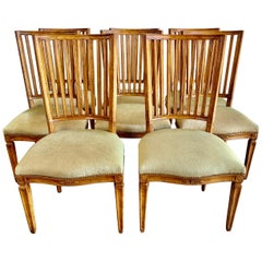 Set of Eight Vintage Rose Tarlow Dining Chairs