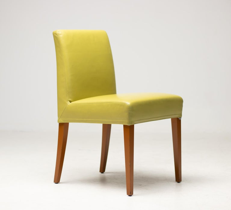 Modern Set of Eight Wittmann Berlin Chairs For Sale