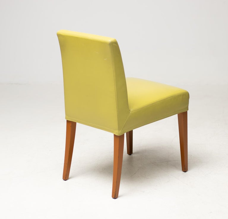 Lacquered Set of Eight Wittmann Berlin Chairs For Sale