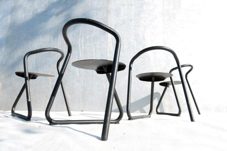 Set of Eighteen Erik Magnussen 'Magnus' Chairs for Paustian Stackable For Sale 5