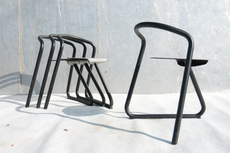 Set of Eighteen Erik Magnussen 'Magnus' Chairs for Paustian Stackable For Sale 1