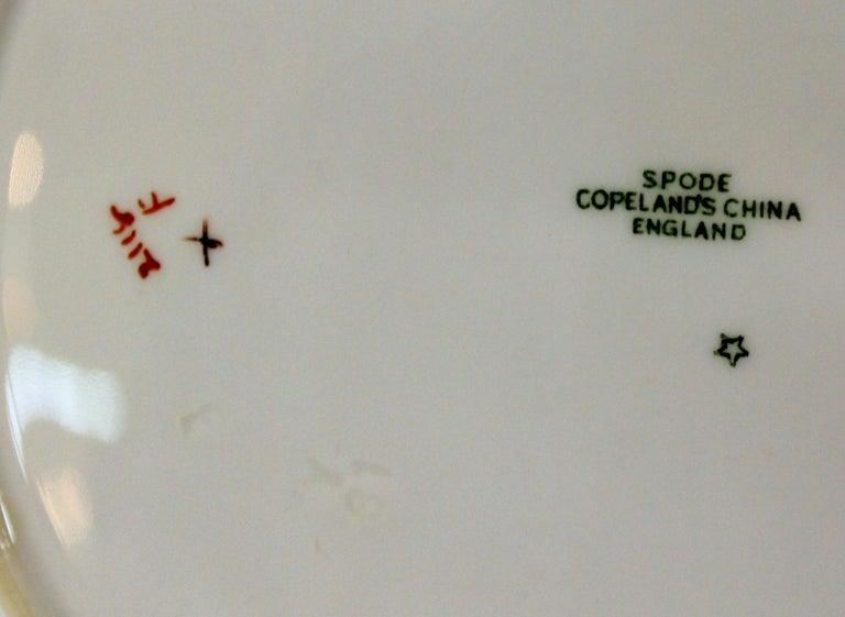 Set of Eleven Old English Spode 'Copelands'