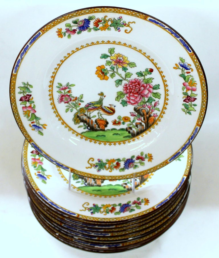 20th Century Set of Eleven Old English Spode 'Copelands'