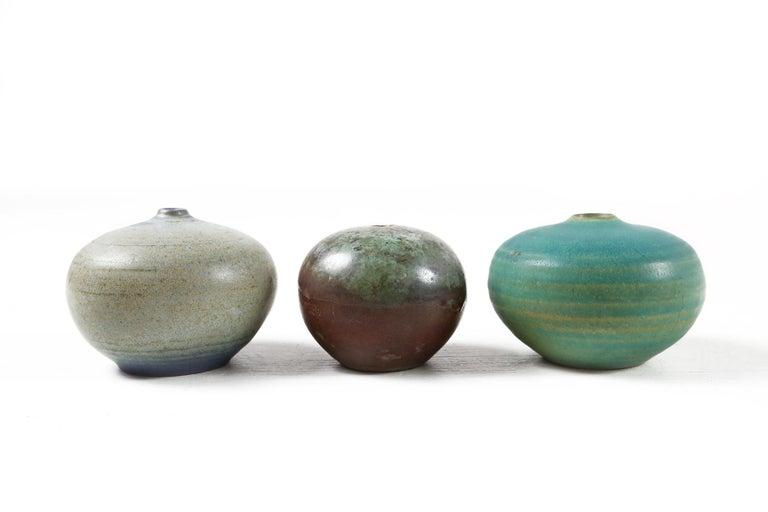 Set of Eleven Vases by Antonio Lampecco, Belgium, circa 1980 For Sale 4