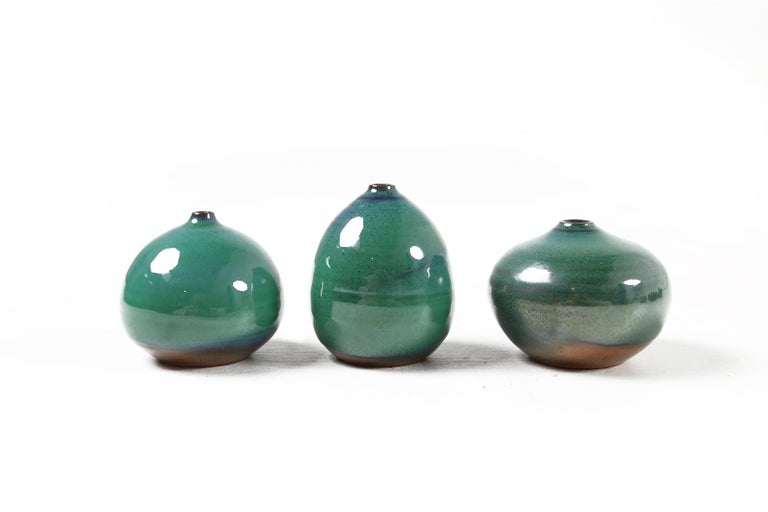 Set of Eleven Vases by Antonio Lampecco, Belgium, circa 1980 In Good Condition For Sale In Ghent, BE