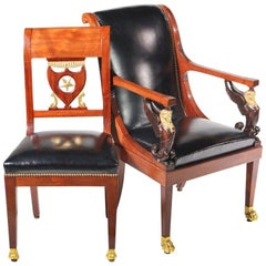 Set of Empire Dining Chairs