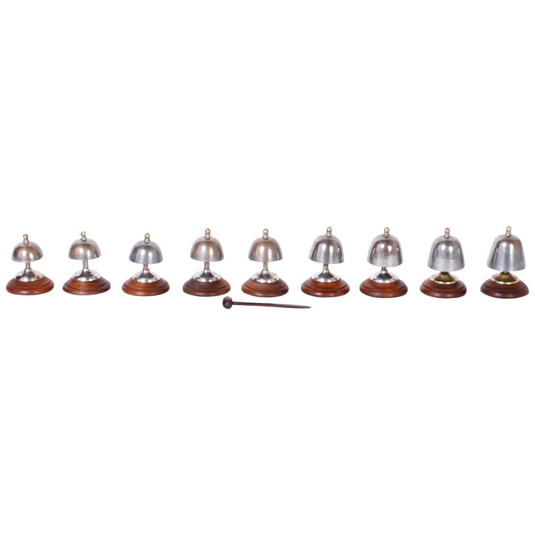 Set of English Call Bells For Sale